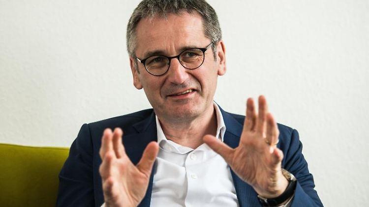 Hendrik Hering (SPD), Präsident des rheinland-pfälzischen Landtags. Foto: Andreas Arnold/Archivbild