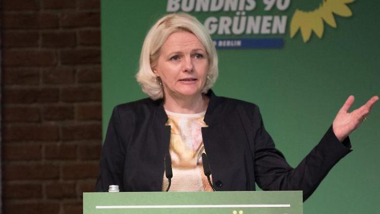 Regine Günther, Berliner Verkehrssenatorin. Foto: Jörg Carstensen/Archiv