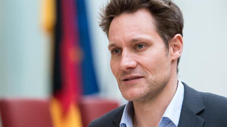 Ludwig Hartmann, Fraktionsvorsitzender der Grünen im bayerischen Landtag. Foto: Sven Hoppe/Archivbild