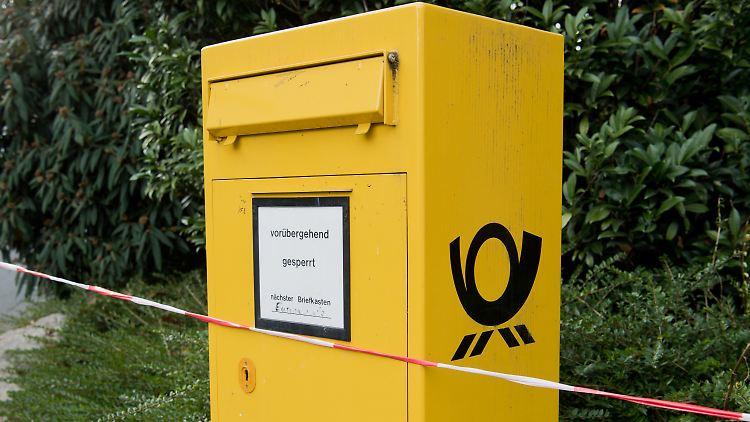 Versand: Gelbe Post betreibt weniger Briefkästen