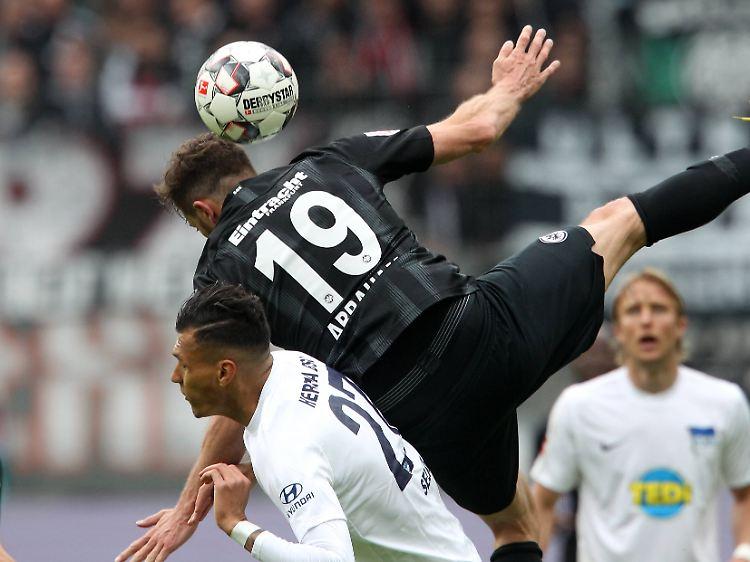 Frankfurt Stolpert U00fcber Hertha RB Leipzig Bucht Die