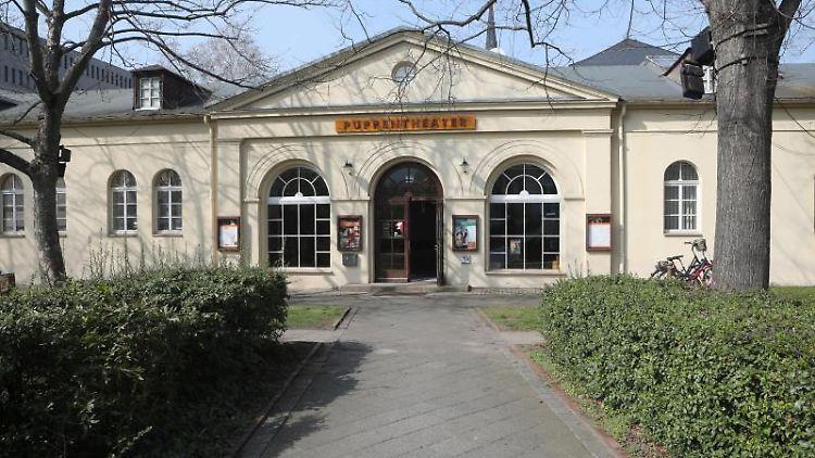 Blick auf das Puppentheater Gera. Foto: Bodo Schackow