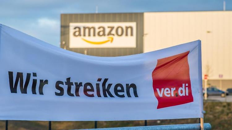 Streik bei Amazon in Bad Hersfeld | Bad Hersfeld
