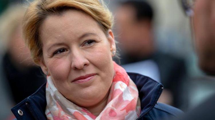 Bundesfamilienministerin Franziska Giffey (SPD). Foto: Jens Büttner