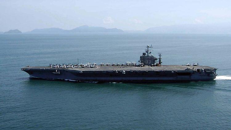 Militärische Warnung an Iran:USA verlegen Kampfverbände in Nahen Osten