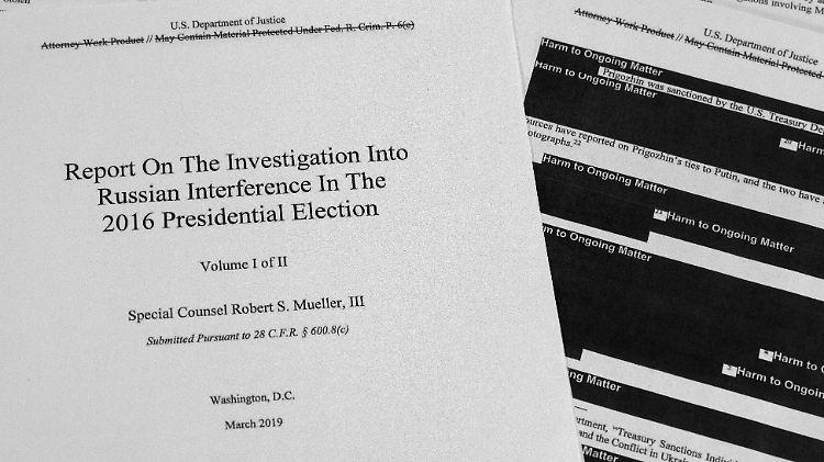 USA - Gericht: Mueller-Bericht muss ungeschwärzt übergeben werden