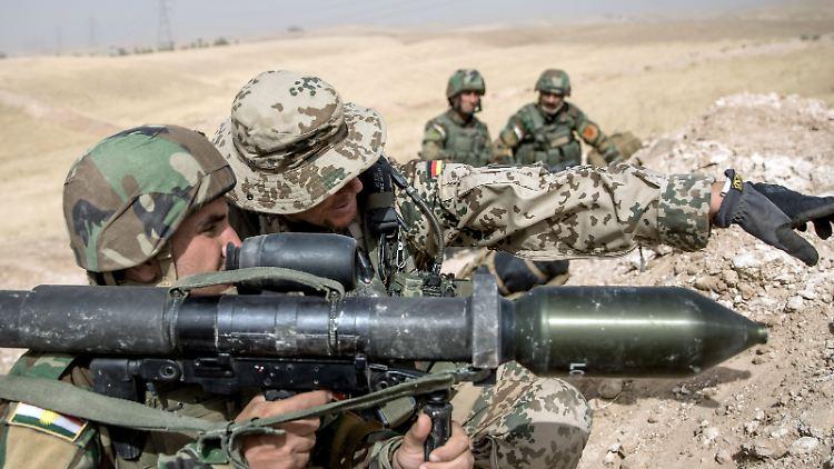 USA wollen deutsche Bodentruppen in Syrien