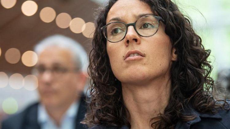 Angela Dorn (Bündnis 90/Die Grünen). Foto: Boris Roessler/Archivbild