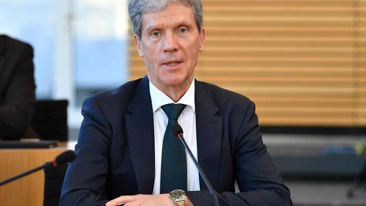 Thüringens Bildungsminister Helmut Holter. Foto: Martin Schutt/Archivbild