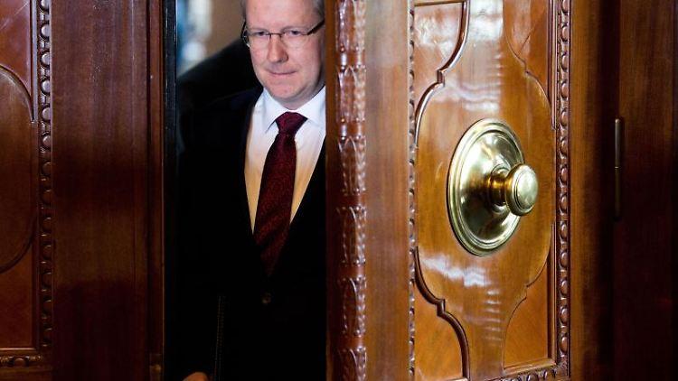 Stefan Schostok (SPD), Hannovers zurückgetretener Oberbürgermeister.Foto:JulianStratenschulte/Archivbild