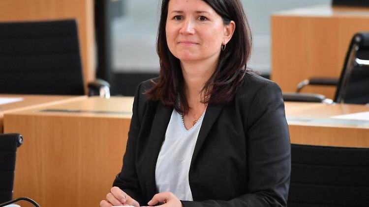 Anja Siegesmund (Grüne), Umweltministerin von Thüringen. Foto: Martin Schutt/Archivbild