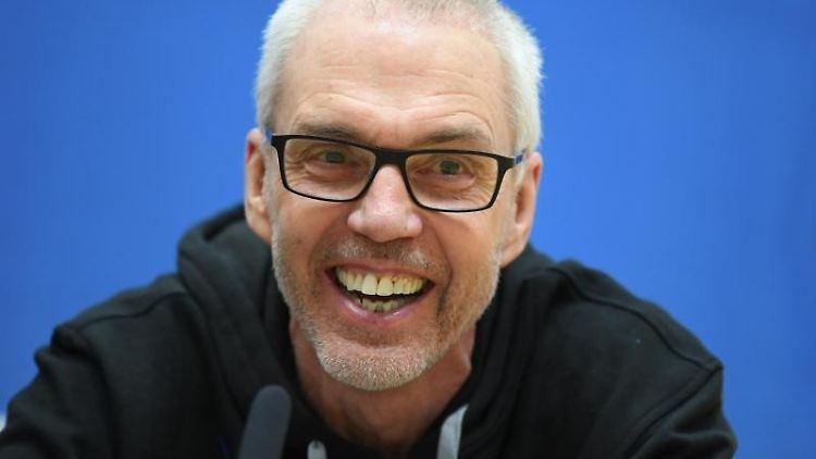 Gordon Herbert wird ersetzt durch Sebastian Gleim als Skyliners-Coach. Foto: Arne Dedert/Archivbild