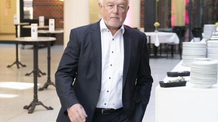 Wolfgang Kubicki, stellvertretender FDP-Bundesvorsitzender, kommt zur Sitzung des Präsidiums. Foto: Paul Zinken/Archivbild