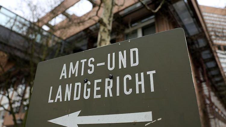 Der Sitz von Langericht und Amtsgericht in Köln. Foto: Oliver Berg/Archivbild