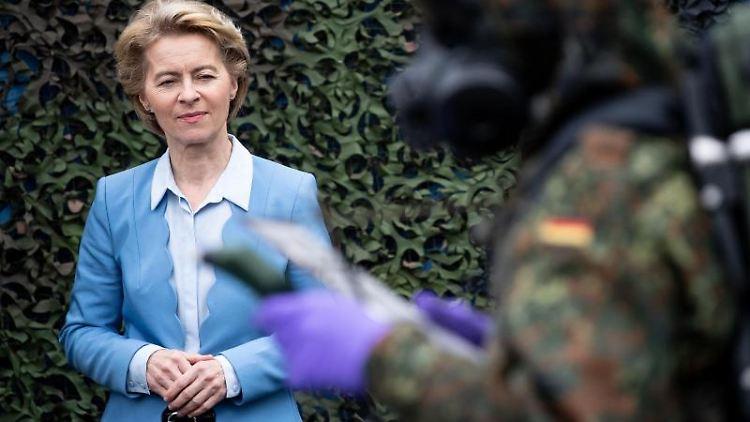 Bundesverteidigungsministerin Ursula von der Leyen. Foto: Fabian Sommer