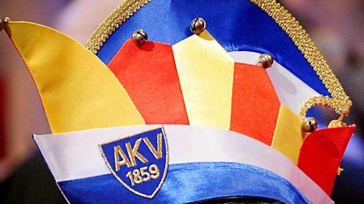 Karnevalskappe des Aachener Karnevalsvereins in Aachen bei der Verleihung des Ordens wider den tierischen Ernst. Foto:Henning Kaiser/Archiv