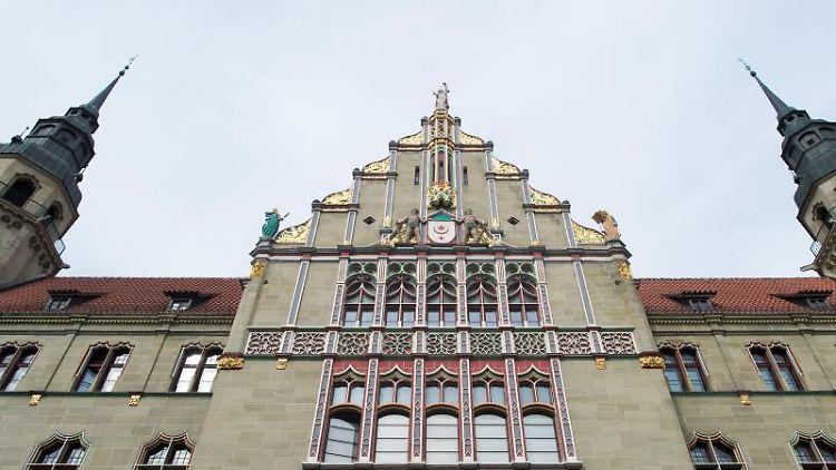 Das Landgericht Halle. Foto: Klaus-Dietmar Gabbert/Archivbild