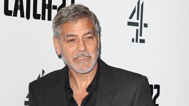 Clooney zu seinem Motorradunfall: