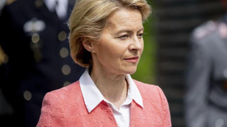 Ursula von der Leyen (CDU), Bundesverteidigungsministerin. Foto: Christoph Soeder