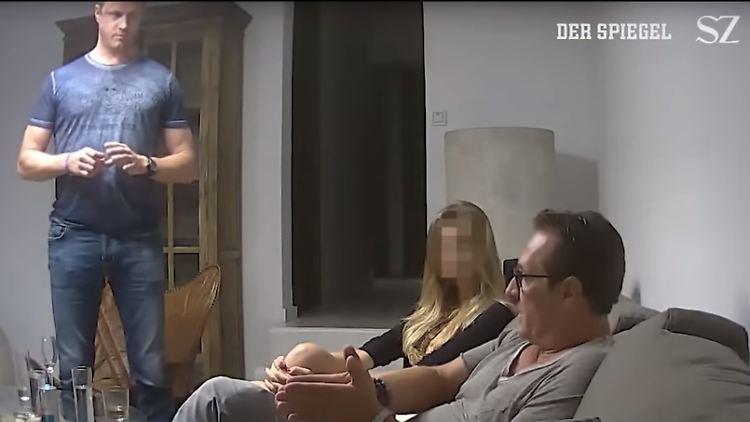 Ex-Vizekanzler Strache und sein Adlatus Gudenus auf Ibiza.