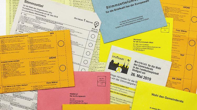 Europawahl 2019: Liveticker zur Wahl zum Europäischen Parlament
