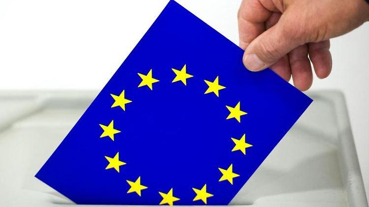 Europawahl. Foto: Patrick Pleul/Archivbild