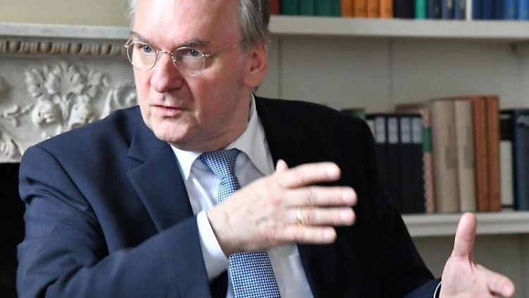 Reiner Haseloff. Foto: Bernd Settnik/Archivbild