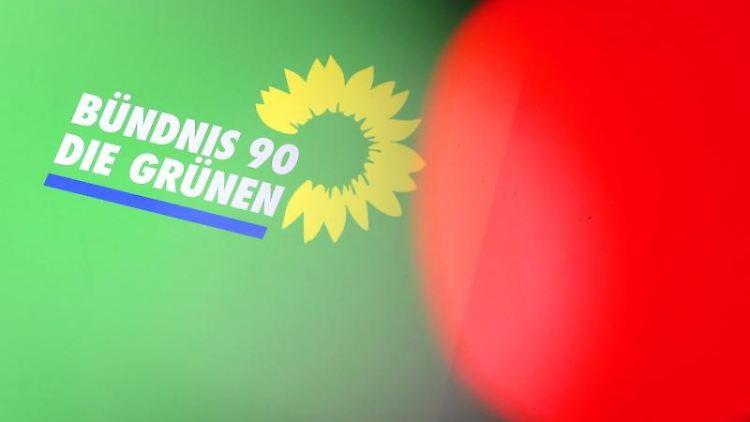 Das Logo von Bündnis90/Die Grünen. Foto: Wolfgang Kumm/Archivbild