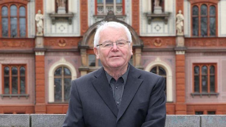 Der ehemalige Ministerpräsident Mecklenburg-Vorpommerns Berndt Seite (CDU). Foto:Bernd Wüstneck/Archivbild