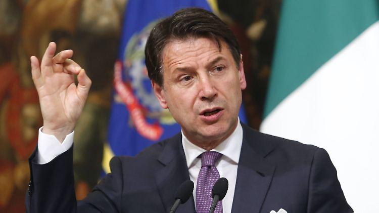 Italiens Regierungschef Conte droht mit Rücktritt