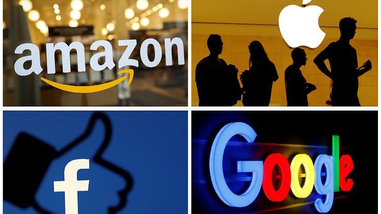 Facebook, Apple, Google und Amazon im Visier der US-Regierung