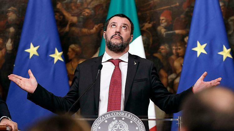 Europäische Union: EU empfiehlt Defizit-Verfahren gegen Italien