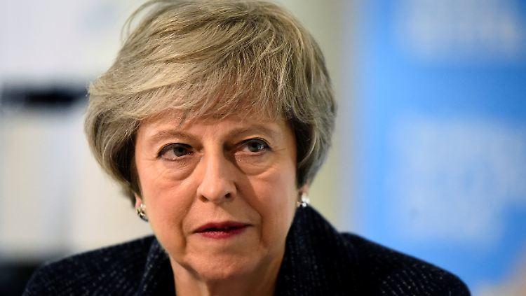 Großbritannien - May als Parteichefin der Konservativen zurückgetreten