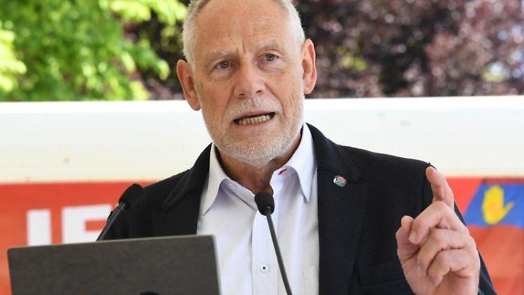 Martin Kunzmann, Landesvorsitzender des Deutschen Gewerkschaftsbund (DGB) Baden-Württemberg. Foto: Uli Deck/Archivbild