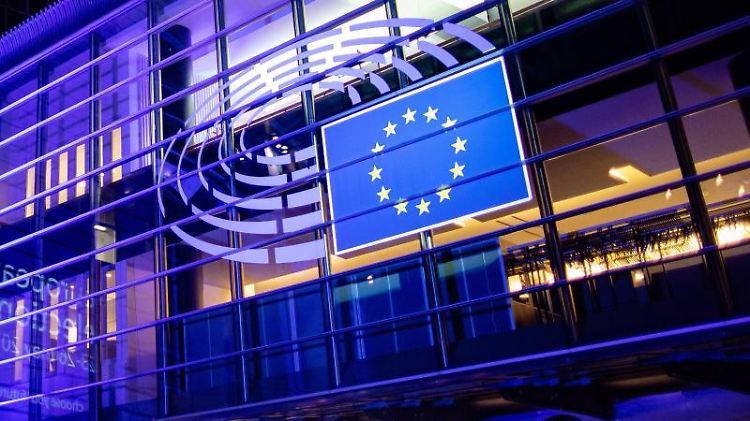 Das Gebäude des Europäischen Parlaments in Brüssel. Foto: Marcel Kusch/Archivbild