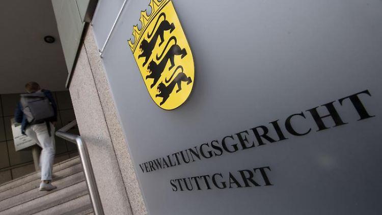 Das Verwaltungsgericht in Stuttgart. Foto: Marijan Murat/Archivbild