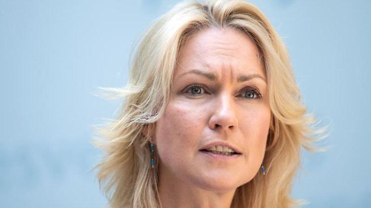 Manuela Schwesig (SPD), Ministerpräsidentin von Mecklenburg-Vorpommern. Foto: Bernd von Jutrczenka/Archiv