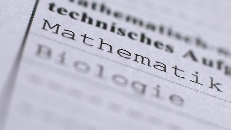 In einem Abiturzeugnis aus dem Jahr 2015 sind die Fächer Mathematik und Biologie aufgeführt. Foto:Karl-JosefHildenbrand/Archivbild