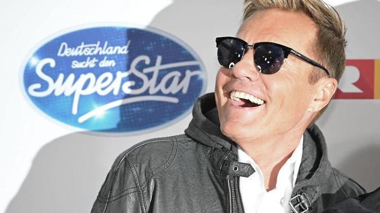 Der Juror Dieter Bohlen kommt zum Finale der RTL-Castingshow
