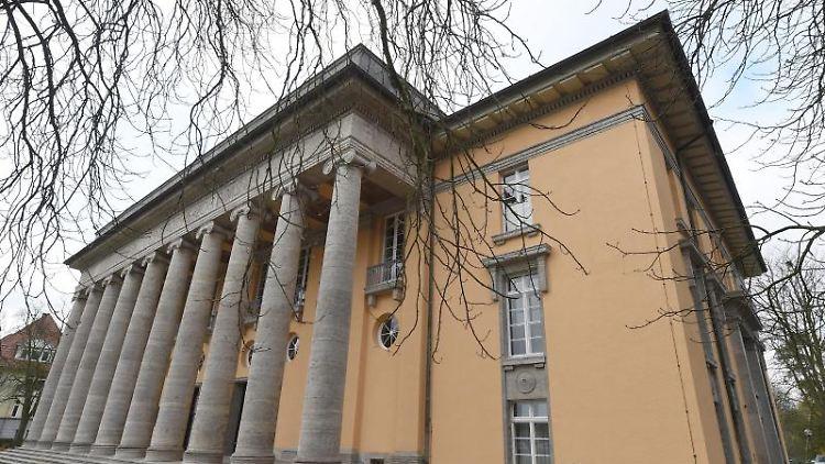 ARCHIV- Das Gebäude der Polizeidirektion in Oldenburg. Foto: Carmen Jaspersen/Archivbild