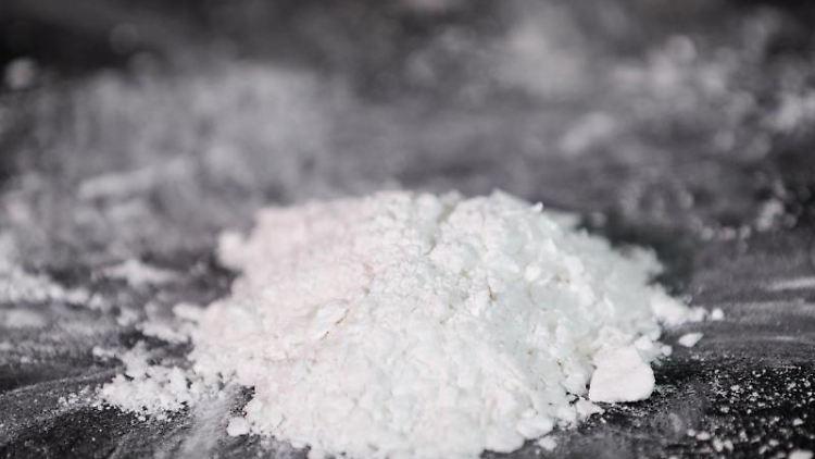 Von der Polizei beschlagnahmtes Kokain. Foto: Christian Charisius/Archivbild