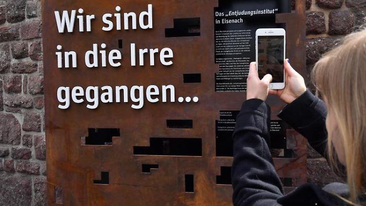 Installation zur Erinnerung an das