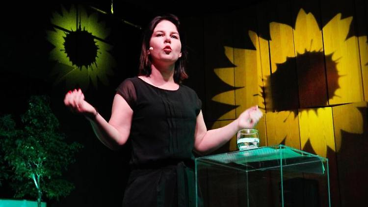 Annalena Baerbock, Bundesvorsitzende der Grünen in der Doppelspitze. Foto: Roland Weihrauch