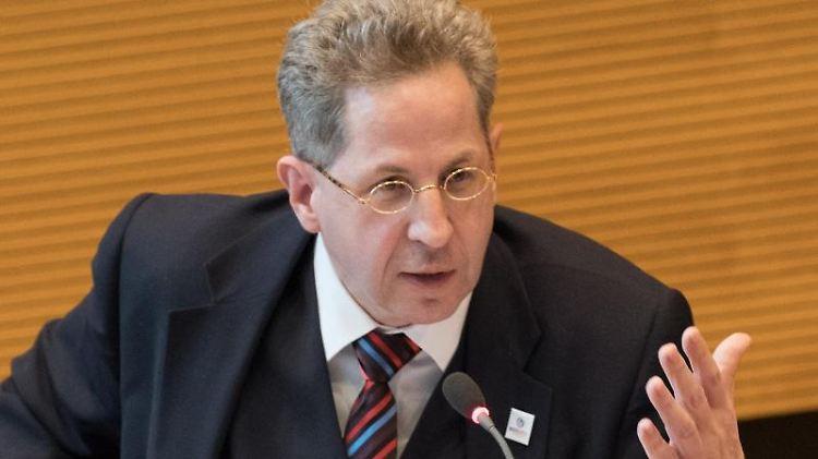 Hans-Georg Maaßen (CDU), ehemaliger Verfassungsschutz-Präsident. Foto: Jörg Carstensen/Archivbild