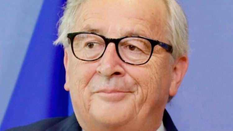 Jean-Claude Juncker, Präsident der Europäischen Kommission, guckt an der Kamera vorbei. Foto: Olivier Matthys/AP/Archivbild