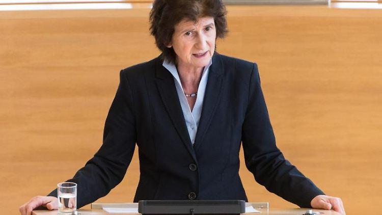 Eva-Maria Stange (SPD), Staatsministerin für Wissenschaft und Kunst in Sachsen. Foto: Monika Skolimowska/Archiv