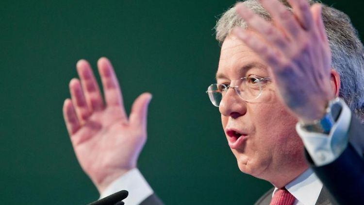 Der CSU-Europaabgeordnete Markus Ferber. Foto: Daniel Karmann/Archivbild