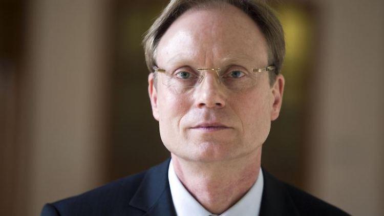 Der Abgeordnete im Landtag von Mecklenburg-Vorpommern, Jochen Schulte (SPD). Foto: Jens Büttner/Archiv
