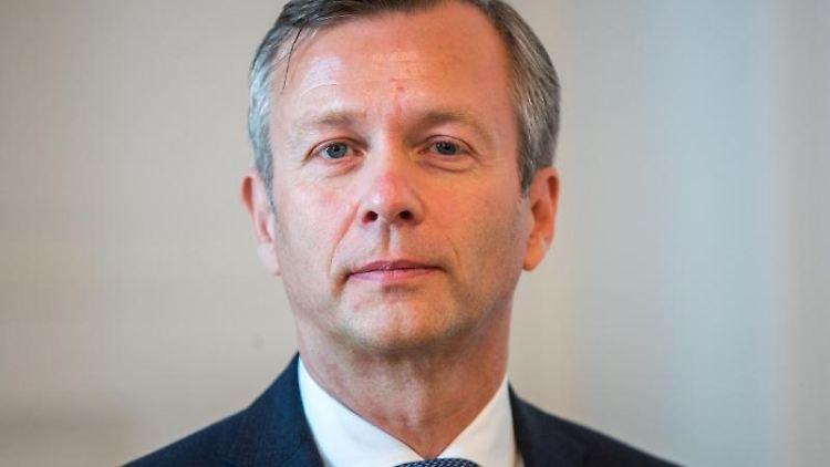 Heiko Geue (SPD), neuer Chef der Staatskanzlei in Mecklenburg-Vorpommern. Foto: Jens Büttner/Archiv
