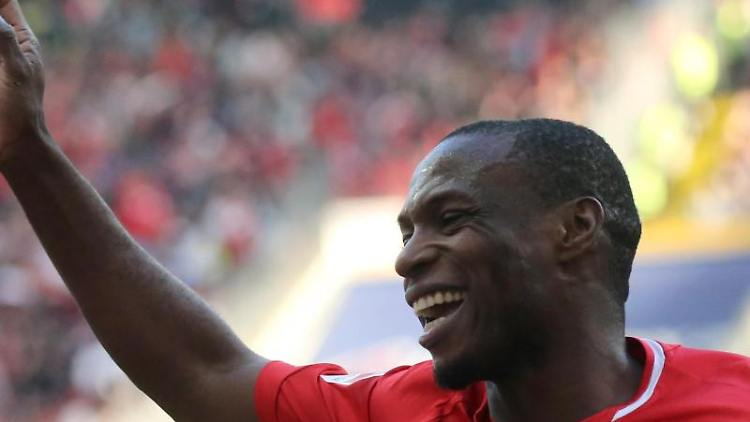 Anthony Ujah vom FSV Mainz 05. Foto: Thomas Frey/Archivbild